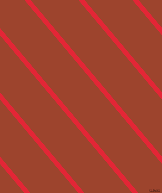 130 degree angle lines stripes, 15 pixel line width, 117 pixel line spacing, Alizarin and Rock Spray angled lines and stripes seamless tileable