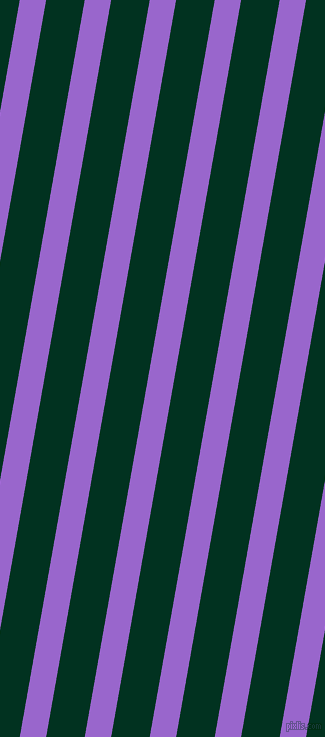 80 degree angle lines stripes, 26 pixel line width, 38 pixel line spacing, Amethyst and Dark Green angled lines and stripes seamless tileable