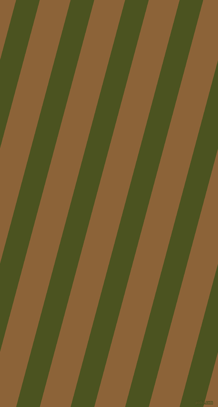 75 degree angle lines stripes, 46 pixel line width, 60 pixel line spacing, Army green and McKenzie angled lines and stripes seamless tileable