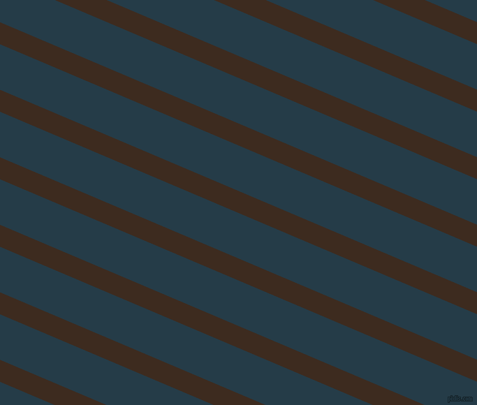 157 degree angle lines stripes, 29 pixel line width, 60 pixel line spacing, Bistre and Tarawera angled lines and stripes seamless tileable