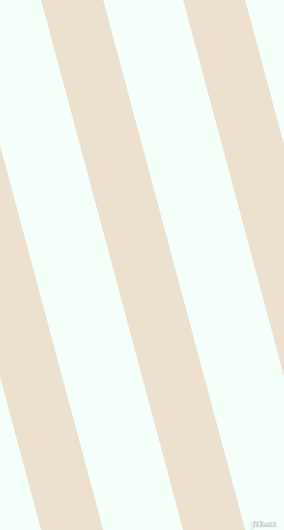 105 degree angle lines stripes, 87 pixel line width, 112 pixel line spacing, Bleach White and Mint Cream angled lines and stripes seamless tileable