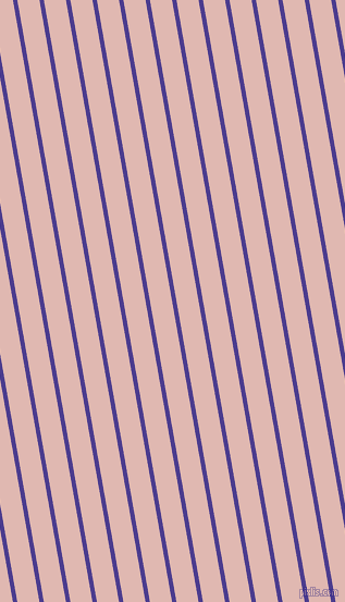 100 degree angle lines stripes, 4 pixel line width, 20 pixel line spacing, Blue Gem and Cavern Pink angled lines and stripes seamless tileable