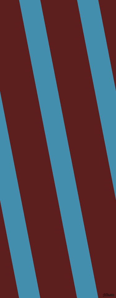 101 degree angle lines stripes, 67 pixel line width, 116 pixel line spacing, Boston Blue and Red Oxide angled lines and stripes seamless tileable