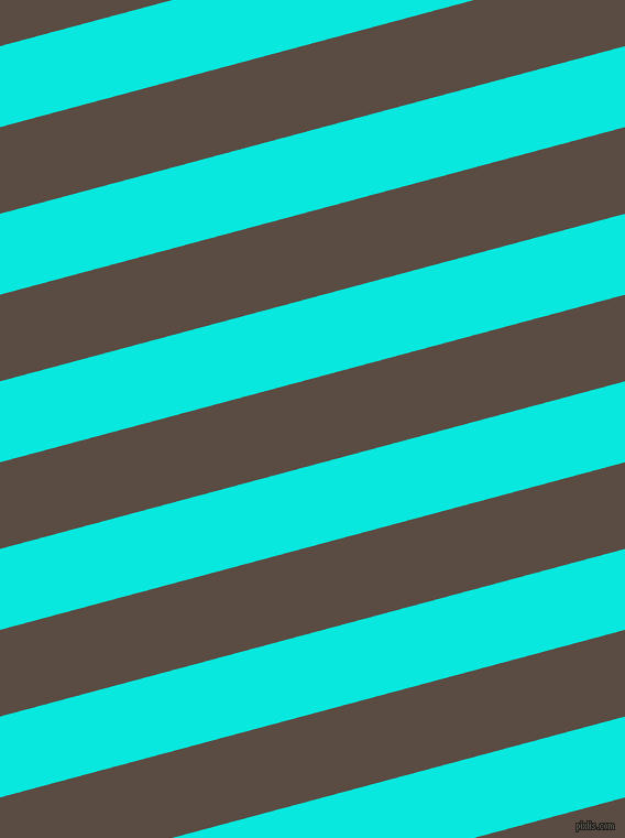 15 degree angle lines stripes, 71 pixel line width, 76 pixel line spacing, Bright Turquoise and Cork angled lines and stripes seamless tileable