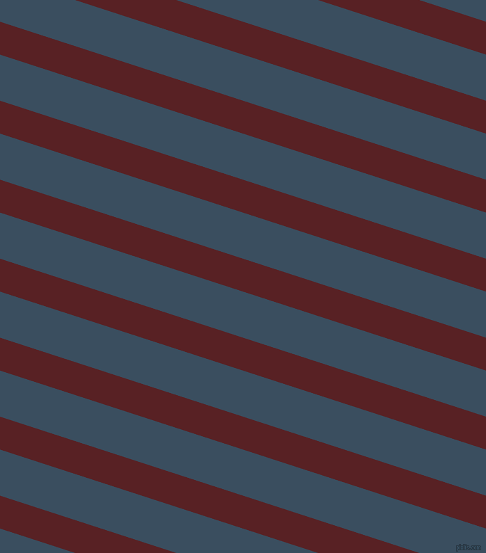 162 degree angle lines stripes, 45 pixel line width, 63 pixel line spacing, Burnt Crimson and Cello angled lines and stripes seamless tileable