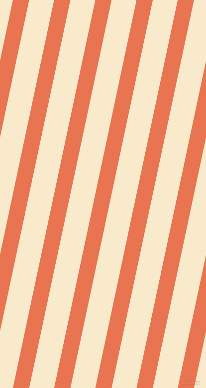 78 degree angle lines stripes, 32 pixel line width, 49 pixel line spacing, Burnt Sienna and Gin Fizz angled lines and stripes seamless tileable