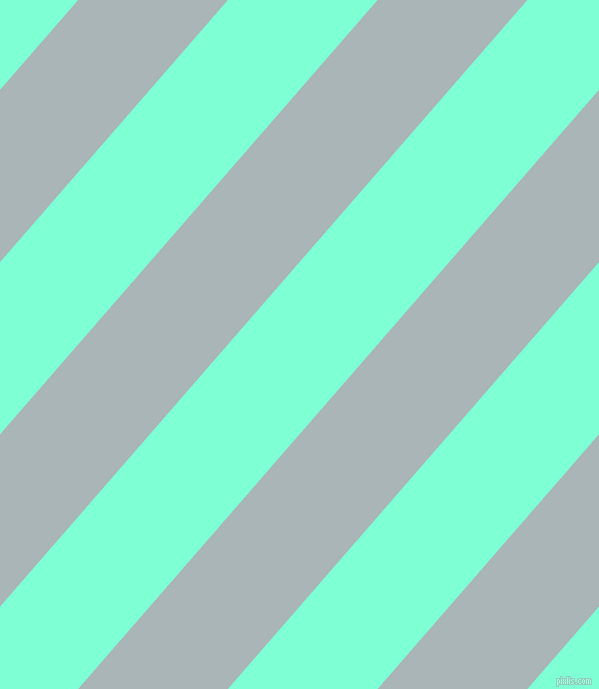 49 degree angle lines stripes, 113 pixel line width, 113 pixel line spacing, Casper and Aquamarine angled lines and stripes seamless tileable