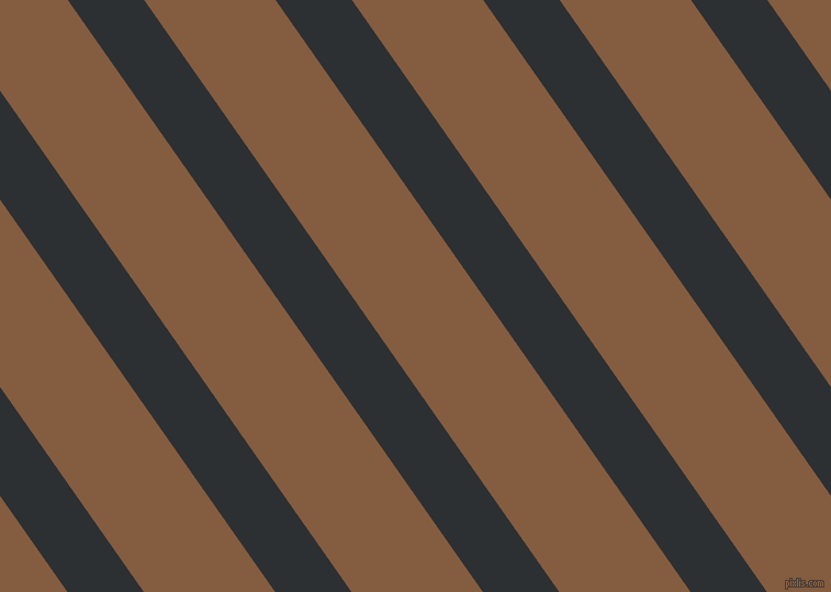 125 degree angle lines stripes, 57 pixel line width, 98 pixel line spacing, Cod Grey and Potters Clay angled lines and stripes seamless tileable