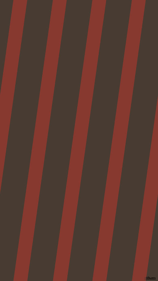 82 degree angle lines stripes, 45 pixel line width, 83 pixel line spacing, Crab Apple and Taupe angled lines and stripes seamless tileable