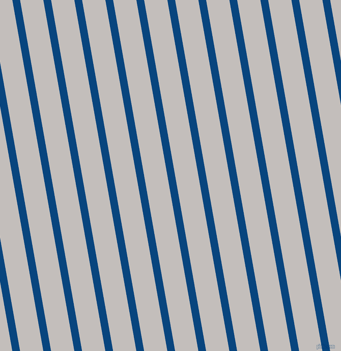 100 degree angle lines stripes, 15 pixel line width, 45 pixel line spacing, Dark Cerulean and Pale Slate angled lines and stripes seamless tileable