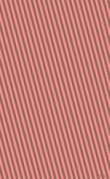 105 degree angle lines stripes, 8 pixel line width, 8 pixel line spacing, Dark Chestnut and Sweet Pink angled lines and stripes seamless tileable