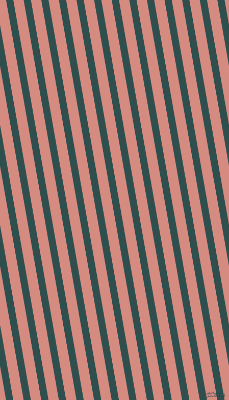 100 degree angle lines stripes, 14 pixel line width, 20 pixel line spacing, Dark Slate Grey and My Pink angled lines and stripes seamless tileable
