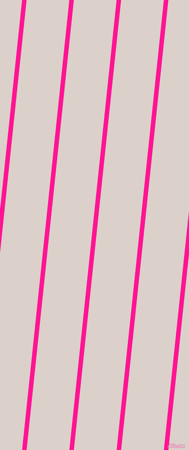 84 degree angle lines stripes, 9 pixel line width, 85 pixel line spacing, Deep Pink and Swiss Coffee angled lines and stripes seamless tileable