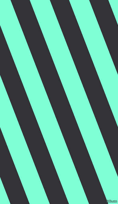 111 degree angle lines stripes, 59 pixel line width, 62 pixel line spacing, Ebony and Aquamarine angled lines and stripes seamless tileable