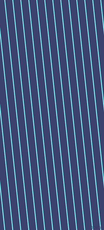 96 degree angle lines stripes, 3 pixel line width, 24 pixel line spacing, Electric Blue and Port Gore angled lines and stripes seamless tileable