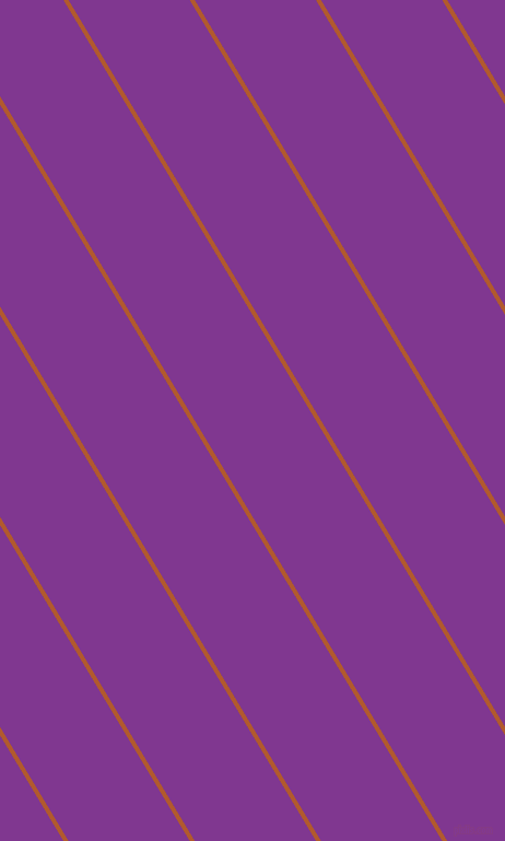 121 degree angle lines stripes, 4 pixel line width, 95 pixel line spacing, Fiery Orange and Vivid Violet angled lines and stripes seamless tileable