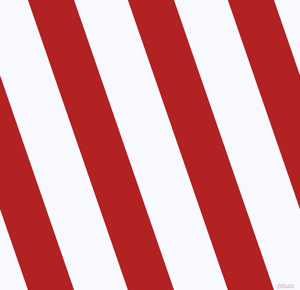 109 degree angle lines stripes, 90 pixel line width, 105 pixel line spacing, Fire Brick and Ghost White angled lines and stripes seamless tileable