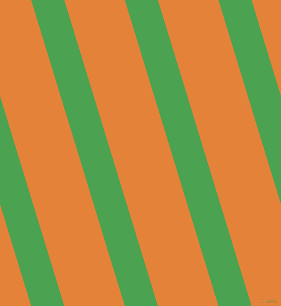 107 degree angle lines stripes, 64 pixel line width, 117 pixel line spacing, Fruit Salad and West Side angled lines and stripes seamless tileable