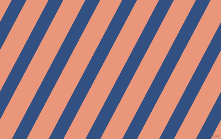 62 degree angle lines stripes, 45 pixel line width, 67 pixel line spacing, Fun Blue and Dark Salmon angled lines and stripes seamless tileable