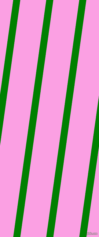 82 degree angle lines stripes, 23 pixel line width, 84 pixel line spacing, Green and Lavender Rose angled lines and stripes seamless tileable