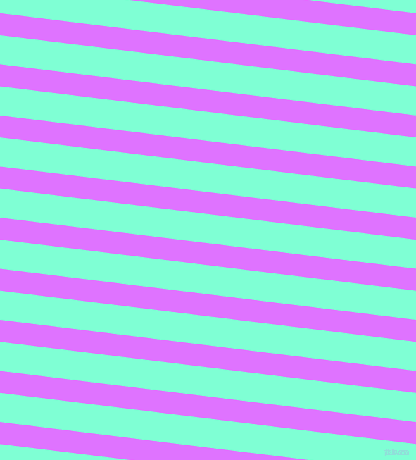 173 degree angle lines stripes, 31 pixel line width, 41 pixel line spacing, Heliotrope and Aquamarine angled lines and stripes seamless tileable