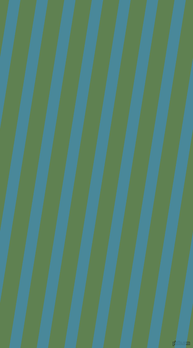 81 degree angle lines stripes, 23 pixel line width, 33 pixel line spacing, Hippie Blue and Glade Green angled lines and stripes seamless tileable