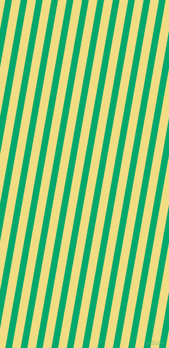 80 degree angle lines stripes, 13 pixel line width, 17 pixel line spacing, Jade and Buff angled lines and stripes seamless tileable