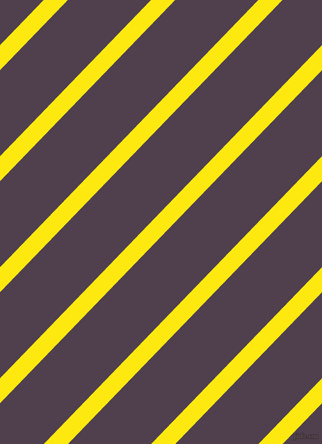 46 degree angle lines stripes, 25 pixel line width, 86 pixel line spacing, Lemon and Purple Taupe angled lines and stripes seamless tileable