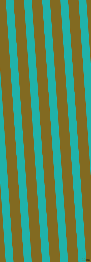 94 degree angle lines stripes, 31 pixel line width, 41 pixel line spacing, Light Sea Green and Yukon Gold angled lines and stripes seamless tileable