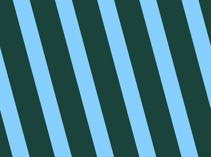 105 degree angle lines stripes, 55 pixel line width, 82 pixel line spacing, Light Sky Blue and Deep Teal angled lines and stripes seamless tileable
