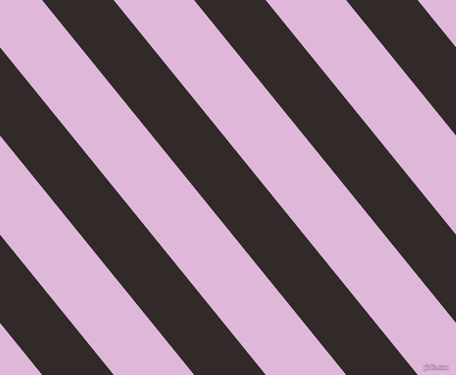 129 degree angle lines stripes, 81 pixel line width, 91 pixel line spacing, Livid Brown and French Lilac angled lines and stripes seamless tileable