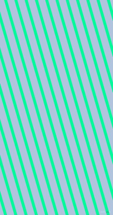 106 degree angle lines stripes, 10 pixel line width, 24 pixel line spacing, Medium Spring Green and Light Steel Blue angled lines and stripes seamless tileable
