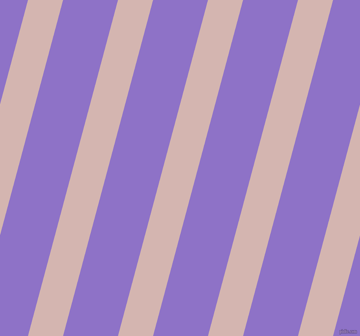 75 degree angle lines stripes, 69 pixel line width, 108 pixel line spacing, Oyster Pink and True V angled lines and stripes seamless tileable