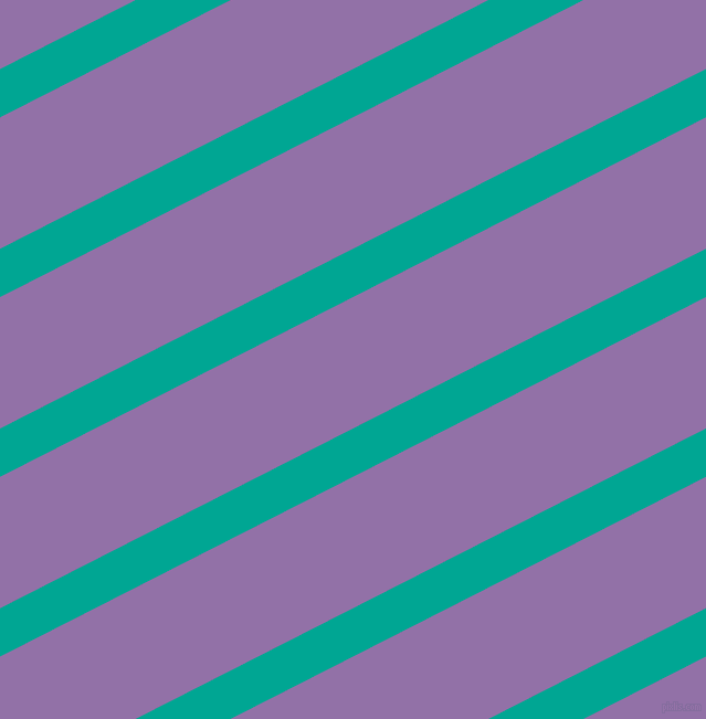 27 degree angle lines stripes, 39 pixel line width, 106 pixel line spacing, Persian Green and Ce Soir angled lines and stripes seamless tileable