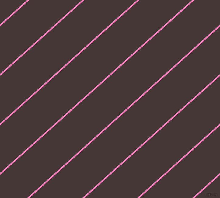42 degree angle lines stripes, 5 pixel line width, 116 pixel line spacing, Persian Pink and Cowboy angled lines and stripes seamless tileable