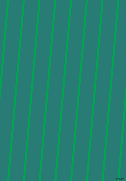 85 degree angle lines stripes, 8 pixel line width, 58 pixel line spacing, Pigment Green and Elm angled lines and stripes seamless tileable