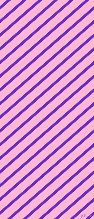 41 degree angle lines stripes, 9 pixel line width, 25 pixel line spacingPurple Heart and Cotton Candy angled lines and stripes seamless tileable