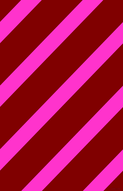 46 degree angle lines stripes, 62 pixel line width, 123 pixel line spacing, Razzle Dazzle Rose and Maroon angled lines and stripes seamless tileable
