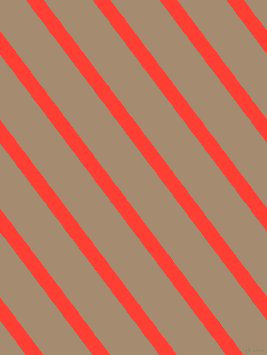 127 degree angle lines stripes, 29 pixel line width, 81 pixel line spacing, Red Orange and Mongoose angled lines and stripes seamless tileable