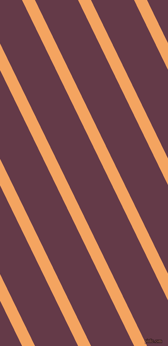 116 degree angle lines stripes, 24 pixel line width, 80 pixel line spacing, Sandy Brown and Tawny Port angled lines and stripes seamless tileable