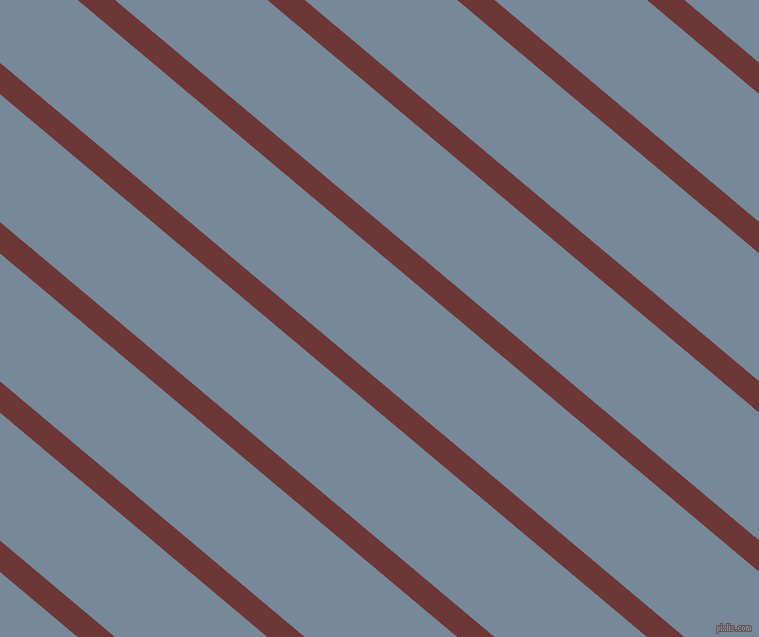 140 degree angle lines stripes, 24 pixel line width, 98 pixel line spacing, Sanguine Brown and Light Slate Grey angled lines and stripes seamless tileable