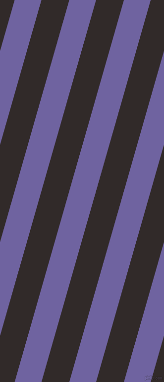 74 degree angle lines stripes, 52 pixel line width, 54 pixel line spacing, Scampi and Livid Brown angled lines and stripes seamless tileable