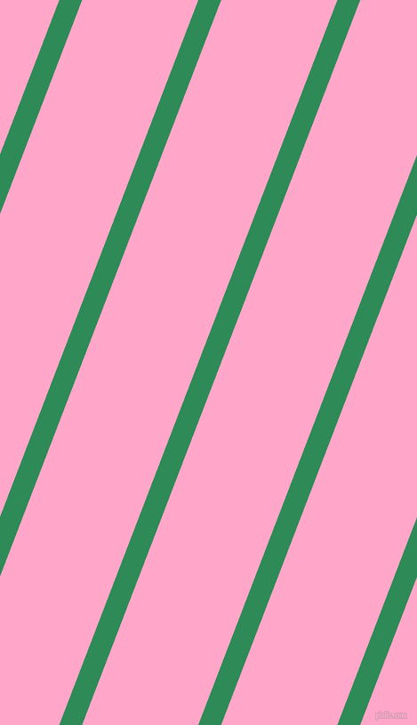 69 degree angle lines stripes, 24 pixel line width, 122 pixel line spacing, Sea Green and Carnation Pink angled lines and stripes seamless tileable