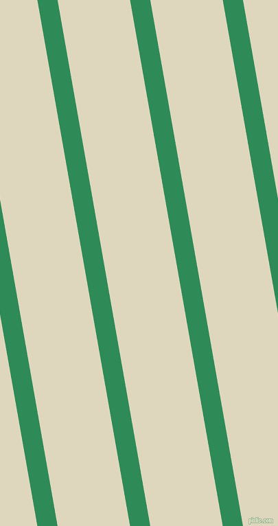 100 degree angle lines stripes, 29 pixel line width, 104 pixel line spacing, Sea Green and Wheatfield angled lines and stripes seamless tileable