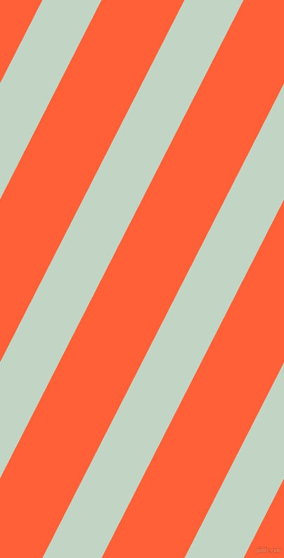 63 degree angle lines stripes, 75 pixel line width, 105 pixel line spacing, Sea Mist and Outrageous Orange angled lines and stripes seamless tileable