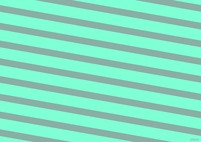 170 degree angle lines stripes, 27 pixel line width, 45 pixel line spacing, Sea Nymph and Aquamarine angled lines and stripes seamless tileable