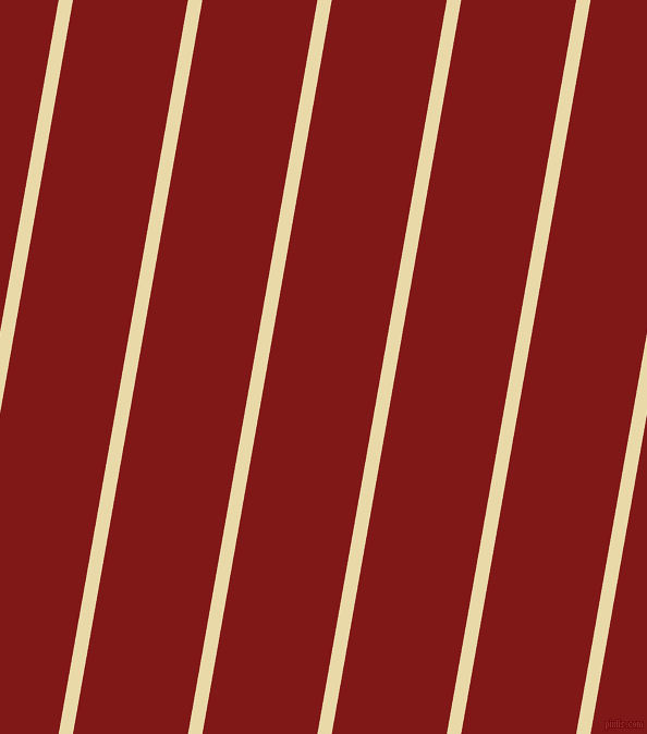 80 degree angle lines stripes, 13 pixel line width, 104 pixel line spacing, Sidecar and Falu Red angled lines and stripes seamless tileable