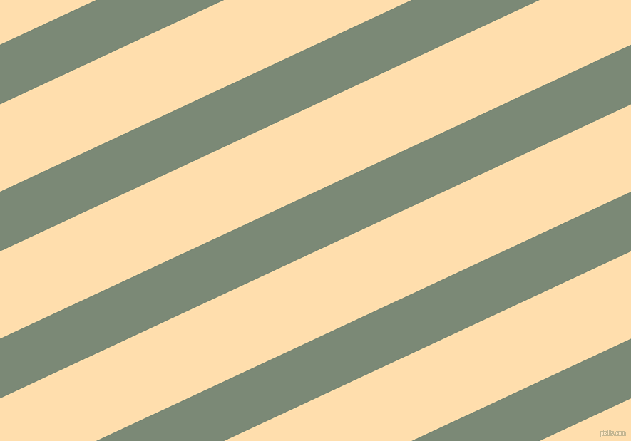 25 degree angle lines stripes, 76 pixel line width, 111 pixel line spacing, Spanish Green and Navajo White angled lines and stripes seamless tileable