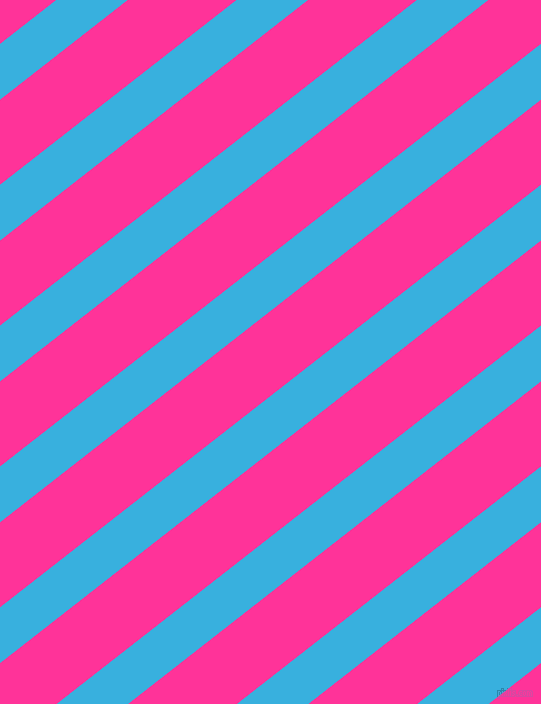 38 degree angle lines stripes, 44 pixel line width, 67 pixel line spacing, Summer Sky and Wild Strawberry angled lines and stripes seamless tileable