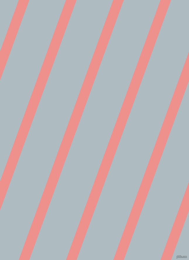 70 degree angle lines stripes, 34 pixel line width, 118 pixel line spacing, Sweet Pink and Heather angled lines and stripes seamless tileable
